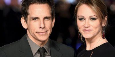 Ben Stiller y Christine Taylor. Foto:Getty Images