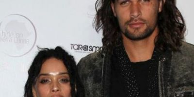 . Jason Momoa y Lisa Bonet. Foto: Getty Images