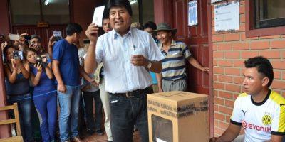 Así se vivió el referéndum en Bolivia