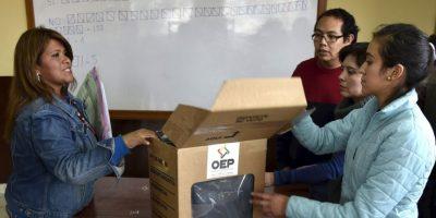 Así se vivió el referéndum en Bolivia Foto:AFP