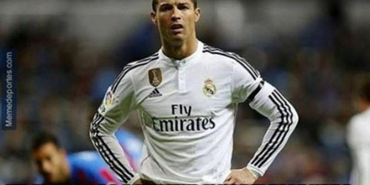 Memes de Cristiano Ronaldo por haber fallado un penalti