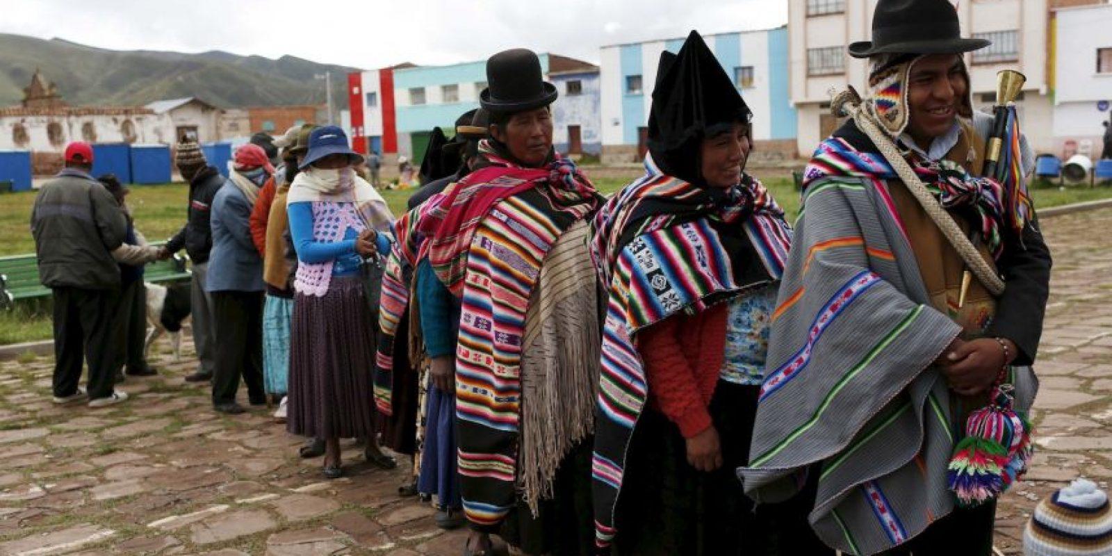 Así se vivió el referéndum en Bolivia Foto:AP