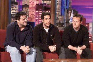 Matt LeBlanc (Joey), Matthew Perry (Chandler) y David Schwimmer (Ross). Foto:Getty Images