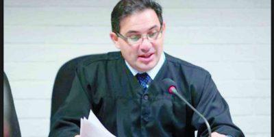 Marco Villeda, juez. Foto:Cortesía