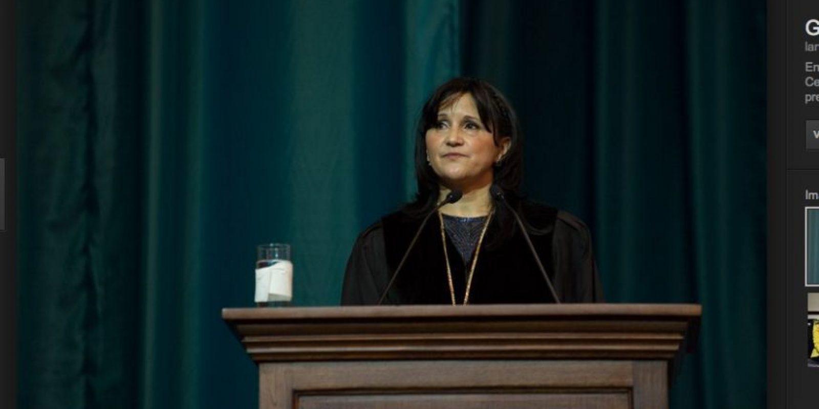Gloria Porras, presidenta de la CC. Foto:Publinews