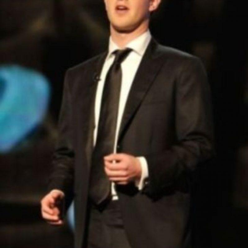 Mark en una entrega de premios en diciembre de 2013. Foto:Getty Images