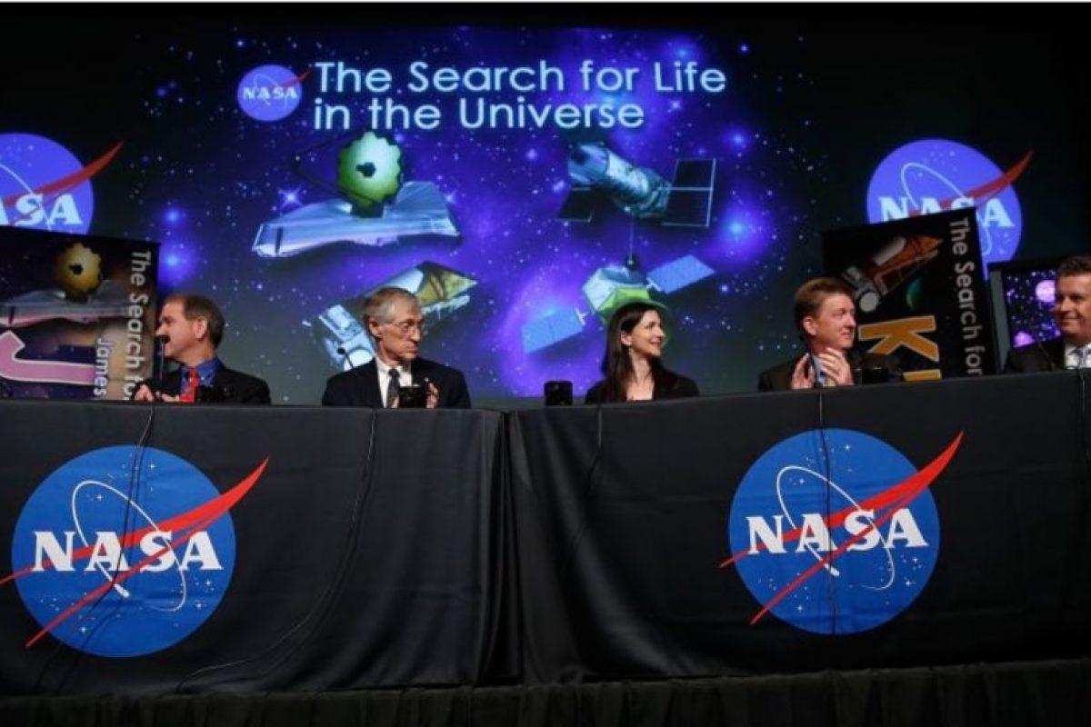 3. Este es el nuevo proyecto de la NASA para buscar vida extraterrestre Foto:NASA