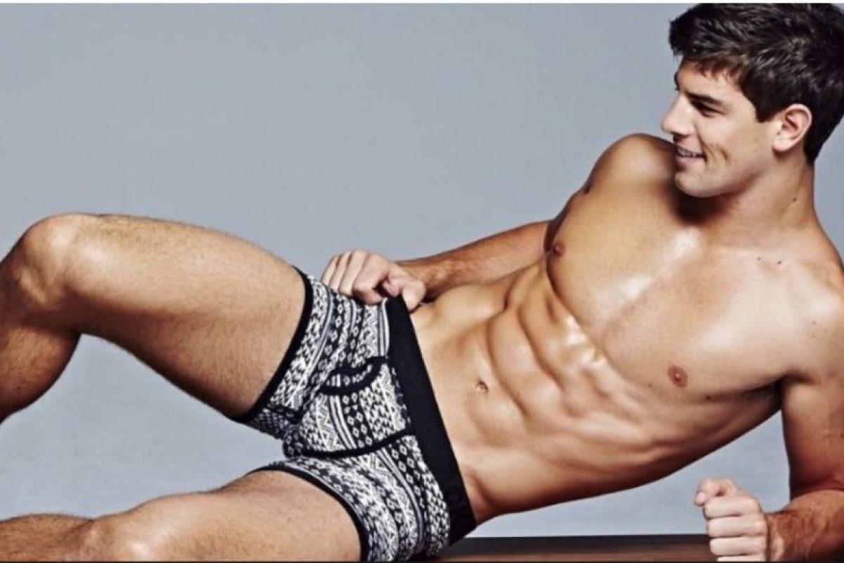 Este modelo estadounidense es admirado por más de 122 mil seguidores tan sólo en su cuenta de Instagram Foto:Vía Instagram/@franky_cammarata