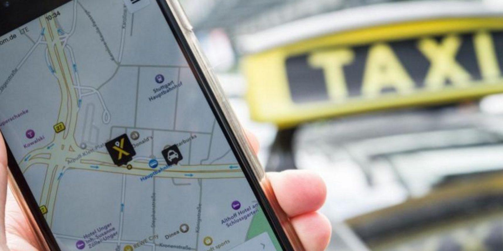 Grupos de taxistas se han quejado del servicio de Uber en el país. Foto:Twitter