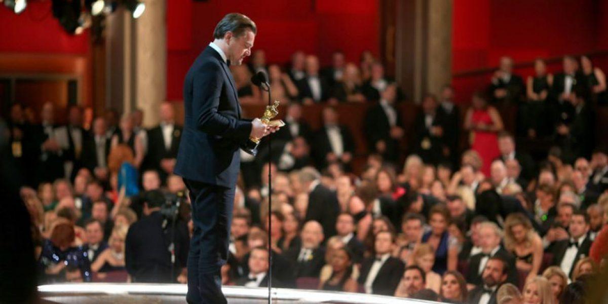 Primer Oscar de Leonardo DiCaprio