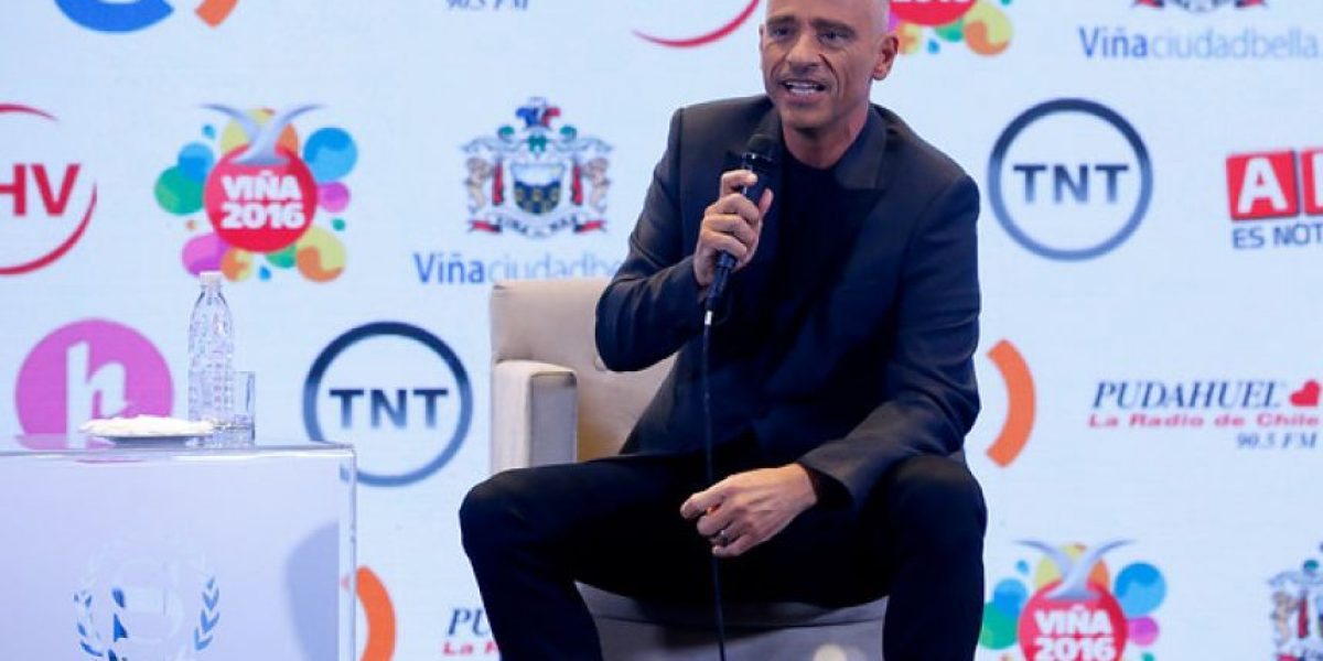 Eros Ramazzotti se presentará en Viña del Mar 2016