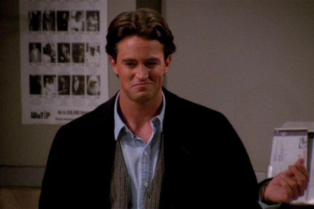 Chandler, sarcástico. Foto:NBC