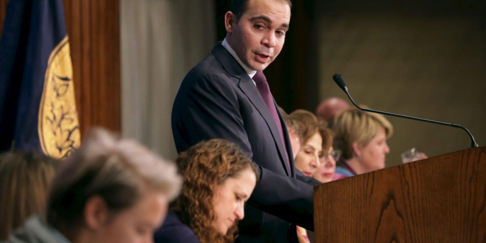 Forma parte del equipo del príncipe jordano Ali Al Hussein Foto:Getty Images