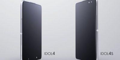 Alcatel presenta sus nuevo smartphones IDOL 4 y IDOL 4S