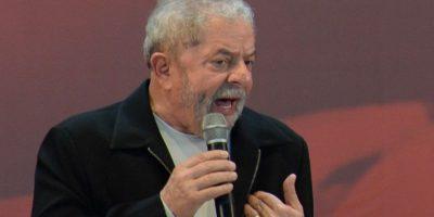 El expresidente brasileño, Luiz Inácio Lula da Silva, durante un discurso. Foto:AFP