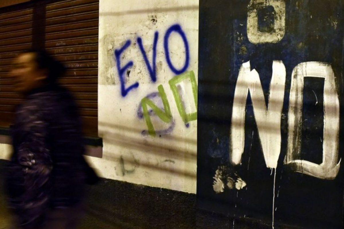 Miles de bolivianos votaron en un referendo constitucional en febrero. Foto:AFP