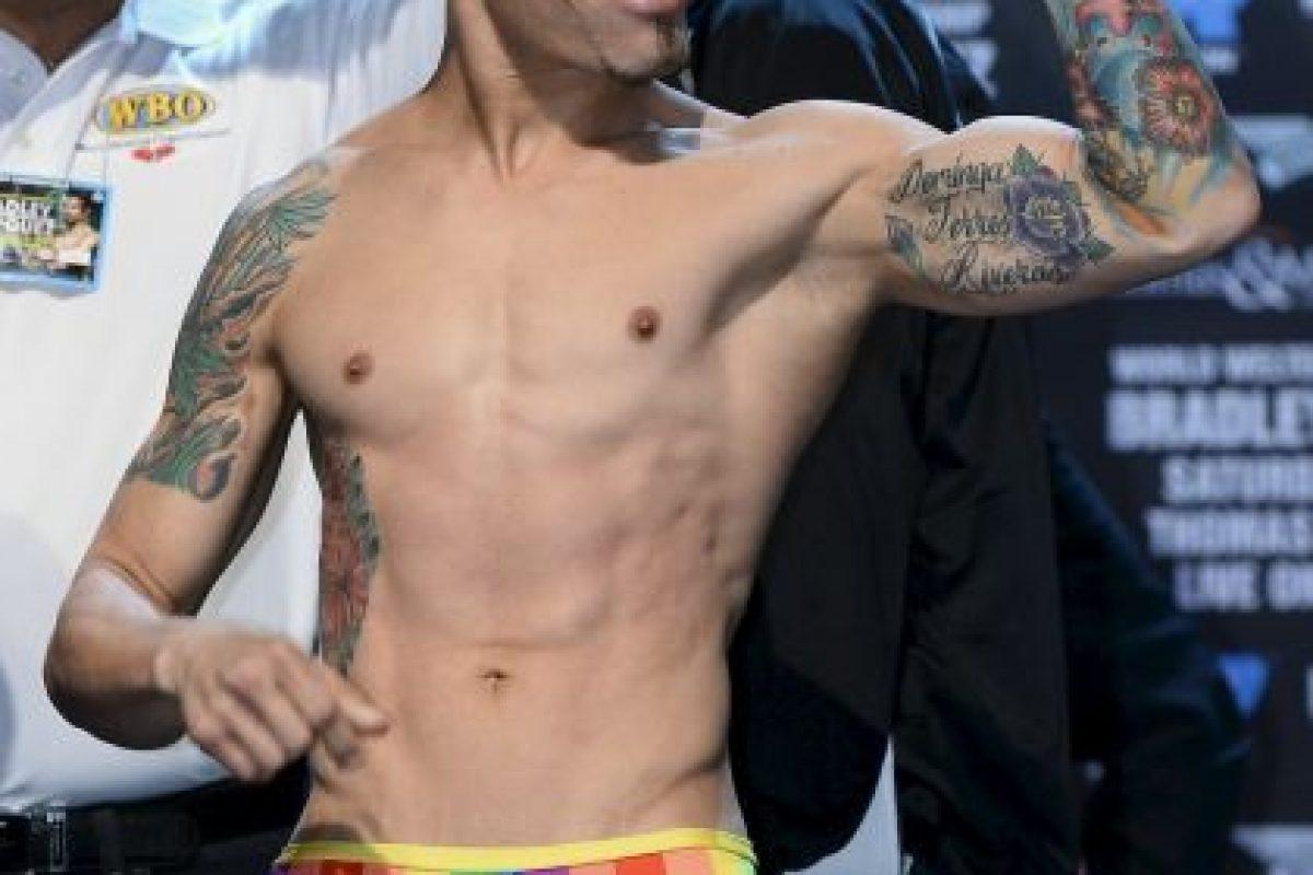 """Un puertorriqueño, abiertamente homosexual, que se ha ofrecido a enseñarle más de la comunidad gay al famoso """"Pacman"""". Foto:Getty Images"""