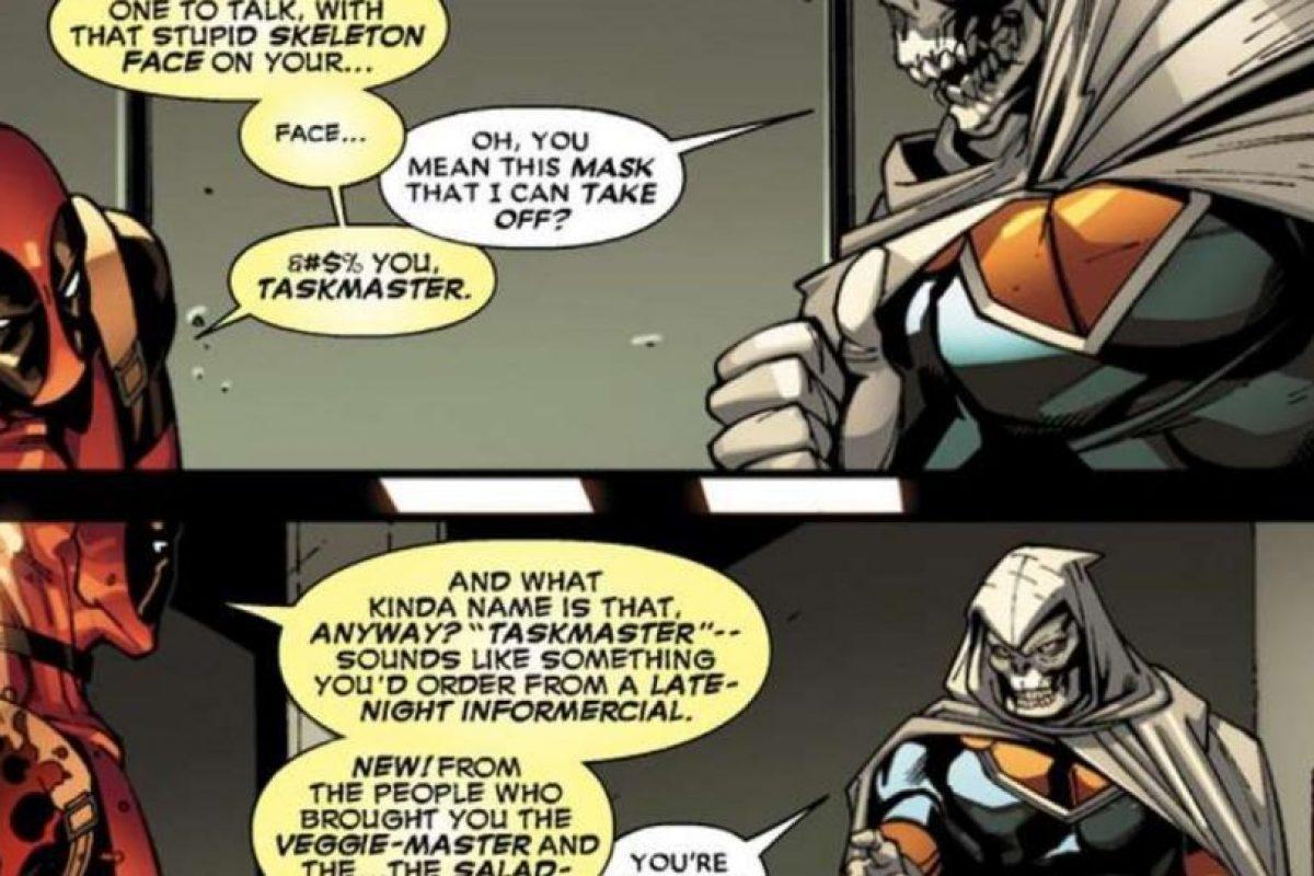 17. Su peor enemigo es Taskmaster. Y también se burla de él. Foto:vía Marvel
