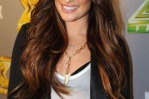 Lea Michele. También se ha caracterizado por su gran nariz. Foto:Getty Images