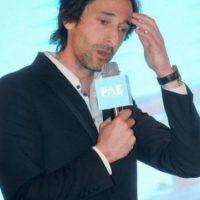 Adrien Brody. Sus rasgos son completamente angulosos. Foto:Getty Images