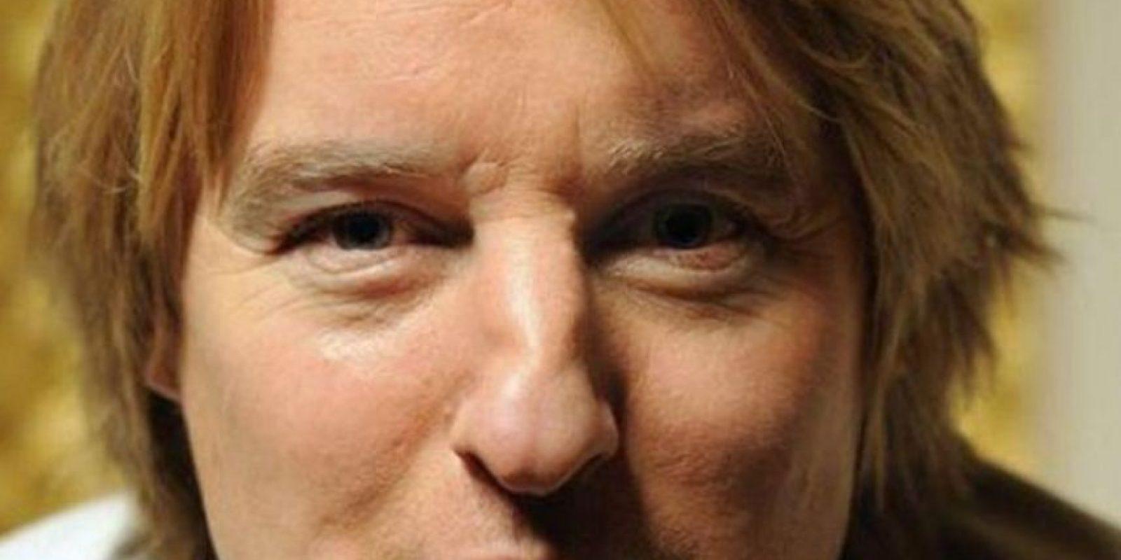 Owen Wilson. También tiene una gran nariz, pero eso lo hace menos atractivo para las mujeres. Foto:Getty Images