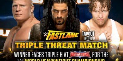 Roman Reigns venció en Fastlane y enfrentará al campeón Triple H en Wrestlemania