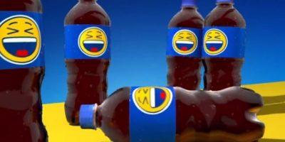 """Los diseños con emojis forman parte de la campaña """"Say it with Pepsi"""". Foto:Twitter"""