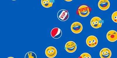 Los PepsiMojis aparecieron por primera vez en una campaña en Canadá, en 2015. Foto:Twitter