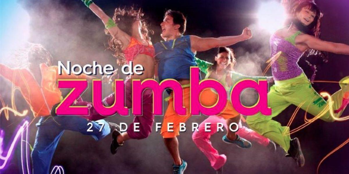 Noche de Zumba en Centro Comercial Portales