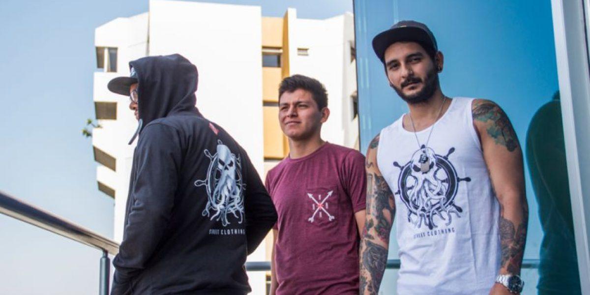Jóvenes guatemaltecos lanzan su línea de ropa