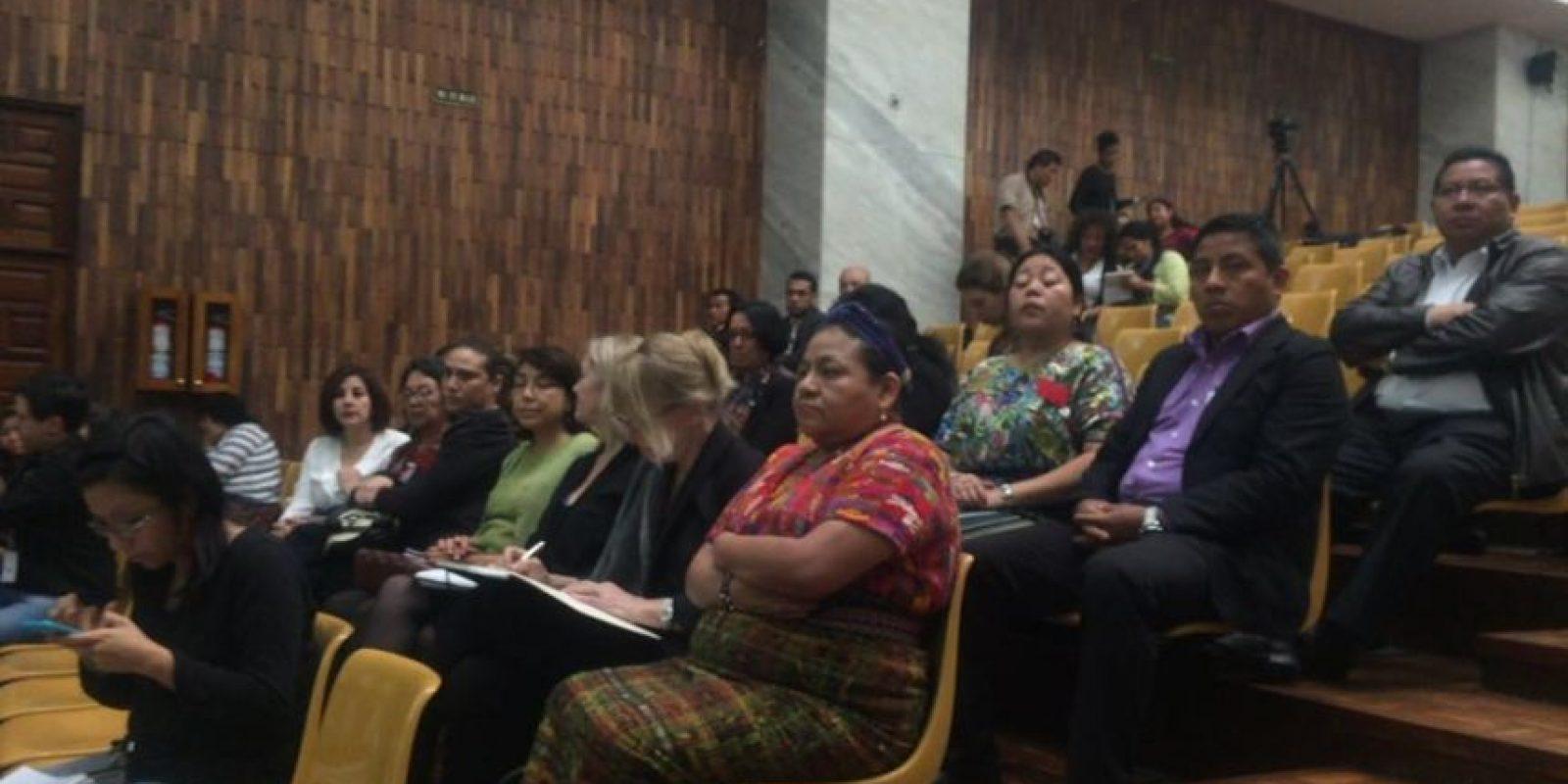 Rigoberta Menchú. Foto:Oliver de Ros