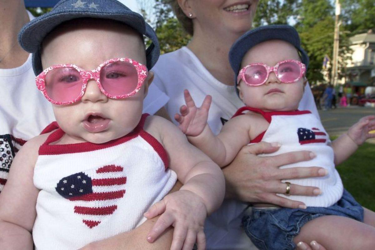 De acuerdo con el Instituto Bernabéu 1 de cada 80 embarazos es doble, siendo dos tercios de mellizos y un tercio de gemelos. Foto:Getty Images