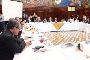 Jefes de bloque. Foto:José Castro