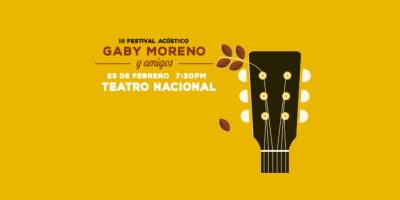 PROMO. Gana boletos dobles para asistir al III Festival Acústico de Gaby Moreno
