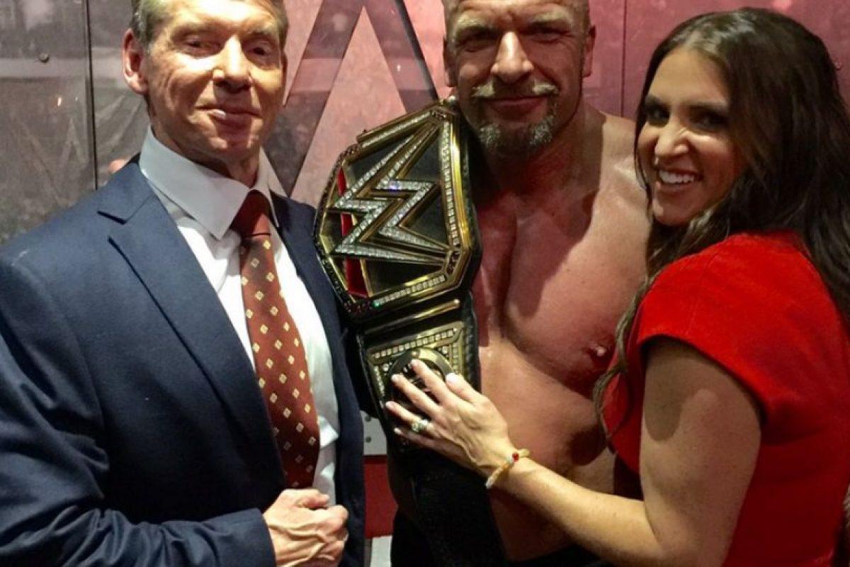 """Triple H es miembro de """"La Autoridad"""" Foto:WWE"""