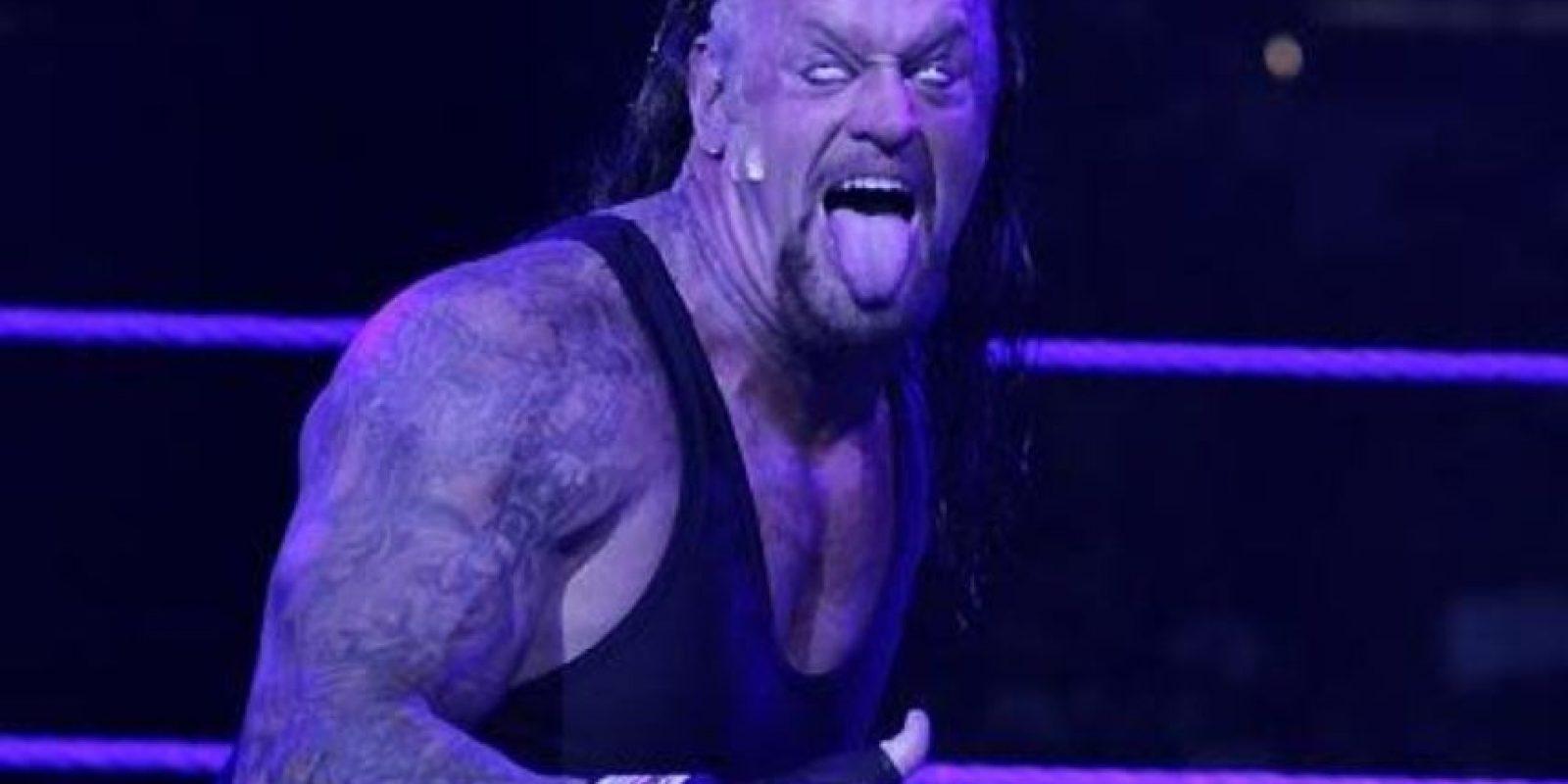 Undertaker ya conoce a su rival para Wrestlemania Foto:WWE