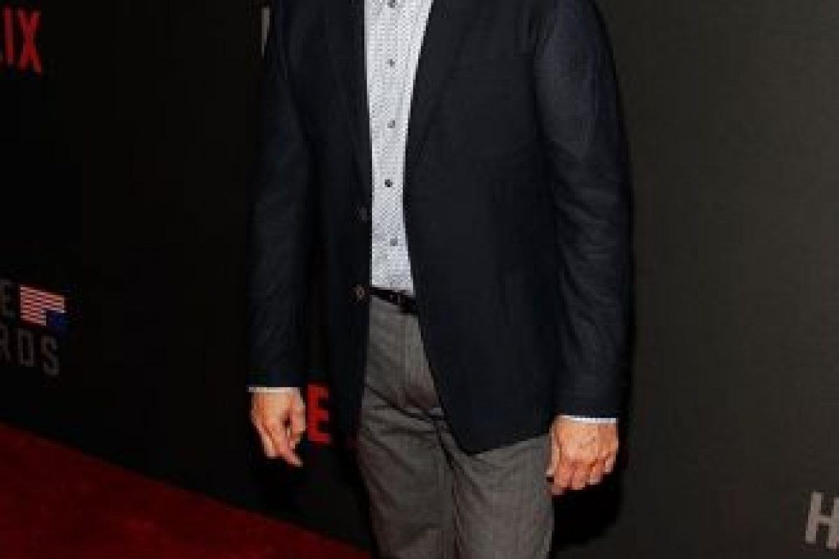 Kevin Spacey ganó el Globo de oro por su interpretación del presidente Francis J. Underwood Foto:House of Cards