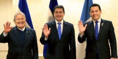 Presidentes del Triángulo Norte afinan estrategia para reunión con vicepresidente de EE. UU.