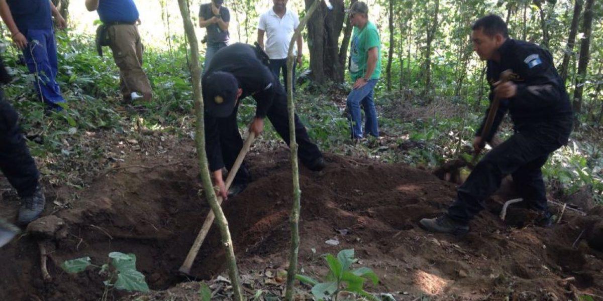 Excavan en busca de un niño y un adolescente secuestrados por banda Los Topos en Escuintla