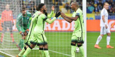 Resultado del partido Dinamo Kiev vs Manchester City, octavos de final de ida de la Champions League 2015-2016
