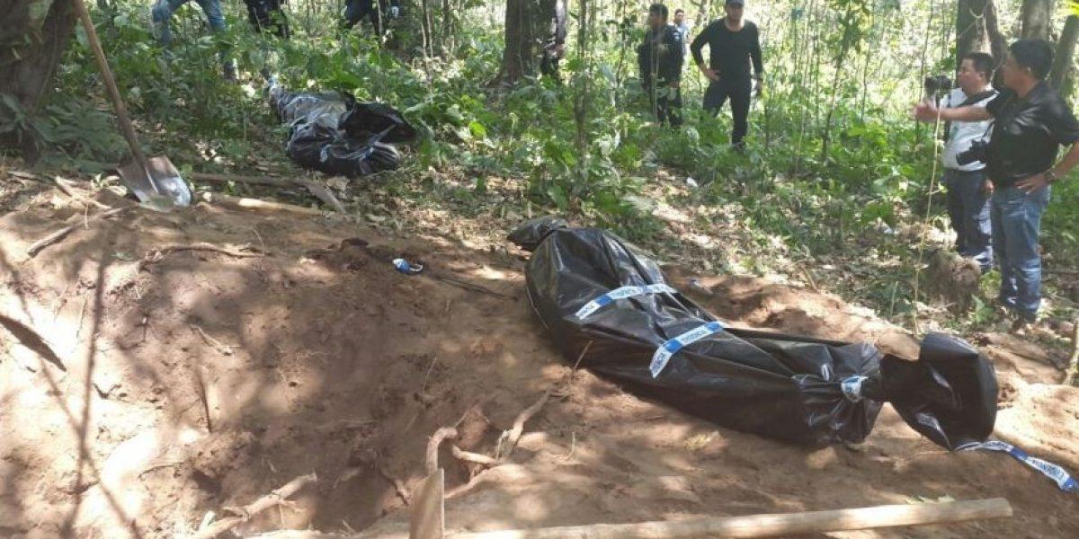 Policía localiza enterrados a dos hombres que habían sido secuestrados por la banda
