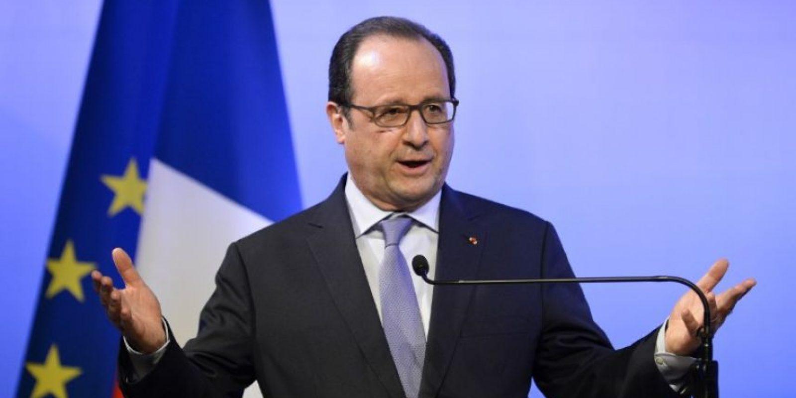 El presidente francés, Francois Hollande, inició este miércoles su visita a Argentina. Foto:AFP