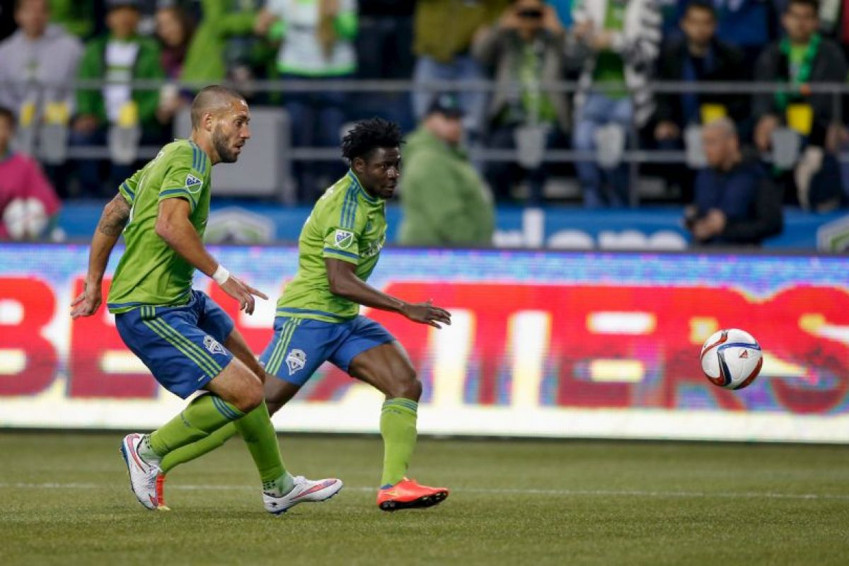 Forma parte del Seattle Sounders desde 2013 Foto:Getty Images
