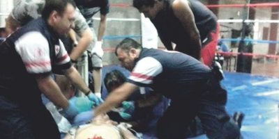 Boxeador Luis Guerrero muere por un golpe en el hígado