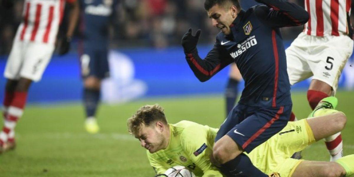 Resultado PSV Eindhoven vs. Atlético de Madrid, ida octavos de final UEFA Champions League 2016