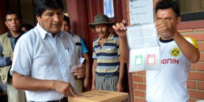 """Referendo le dijo """"no"""" a cuarto periodo presidencial de Evo Morales"""