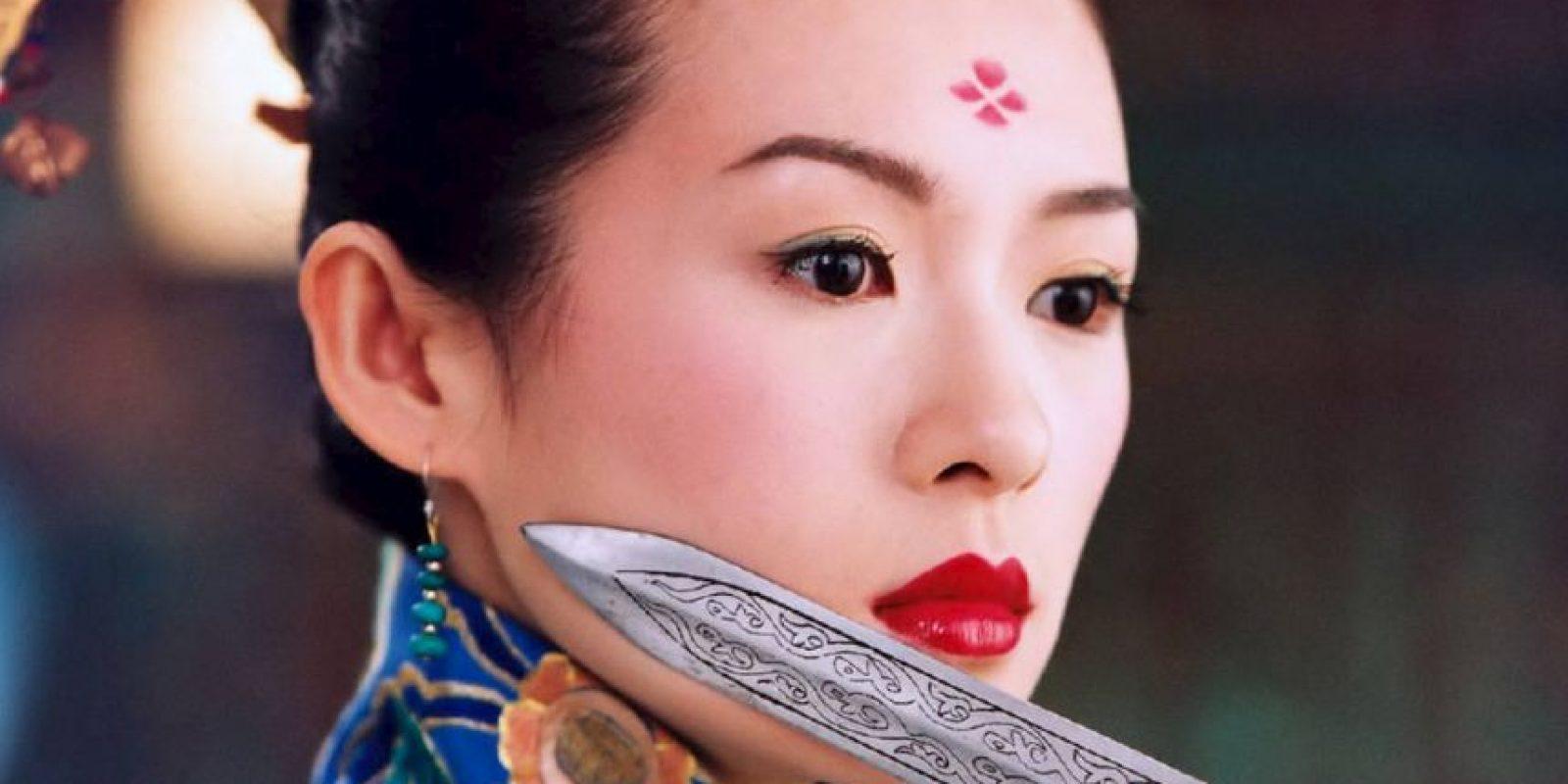 """Destacó en películas Wuxia (género de artes marciales) como """"El Tigre y el Dragón"""" o """"La casa de las Dagas Voladoras"""". Foto:vía Sony Pictures"""