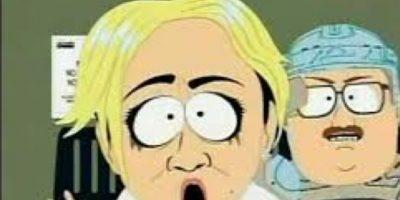 """Crist tuvo su momento de gloria en """"South Park"""". Foto:vía Comedy Central"""