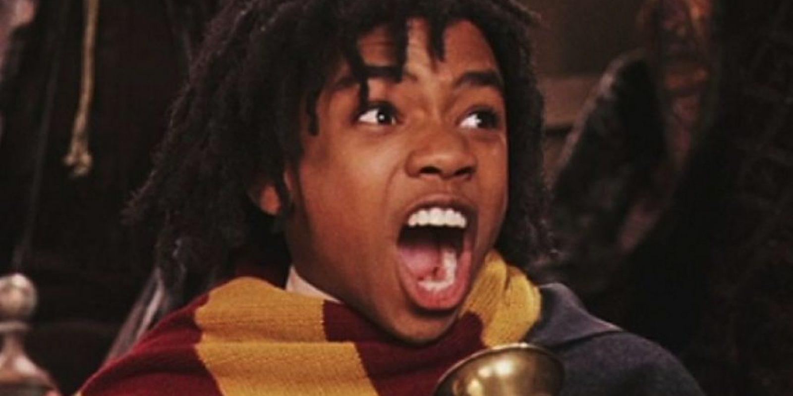 """Luke Youngblood. Interpretó a """"Lee Jordan"""", el narrador de los partidos de """"Quidditch"""" Foto:Vía facebook.com/harrypottermovie"""
