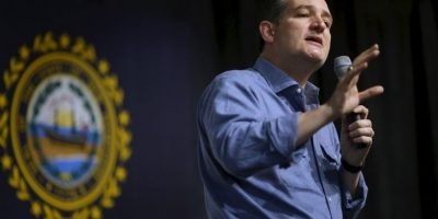 Ted Cruz. Logró robarle el triunfo a Trump en una ocasión. Foto:AFP